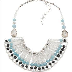 Jewelry - NWT GARDENIA Crystal Bib Collar Necklace